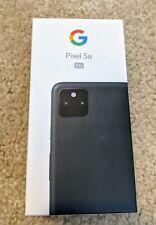 "New listing Google Pixel 5a 6.34"" 128 Gb 5G Sub-6* Mostly black Unlocked"