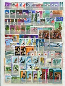 MONTSERRAT 1953-90 FINE USED COLLECTION CAT £800 (580 + 70 M/S OR SHEETLETS)