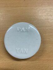 """ANTIQUE VINTAGE """"PAN YAN"""" PICKLE CERAMIC POT LID 5.5cm-WIDE (C32)"""