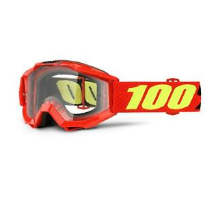 100% Children's Cycling Goggles Accuri Youth Saarinen Clear Lens