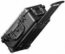 Peli box pelibox pelicase 1510 flightcase negro roles pinzamiento extensible incl s