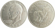 USA , DOLLARO EISENHOWER 1972