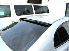 For Honda Civic FD1 FD2 FA5 06-11 4dr JDM VIP Style ROOF Spoiler Unpaint BLACK