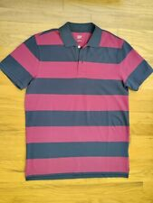 New listing GAP Mens Small (S) Polo Rugby T-Shirt WinterBerry (Red/Blue)