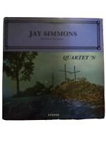 JAY SIMMONS QUARTET 'N NM LP bass singer Harvesters Prophets Plainsmen