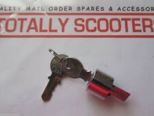 LAMBRETTA STEERING LOCK & KEYS FOR SERIES 3 MODELS - TOP QUALITY