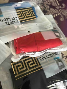 Luxury Branded Boxers - 4pcs (Breathable & Casual underpants)