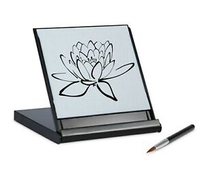 Zen Artist Board Mini Buddha Relaxation Meditation Drawing Board Paint Water