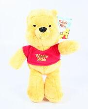 "Winnie The Pooh POOH BEAR 8"" cuddlies plush soft toy cuddeez milne disney - NEW!"