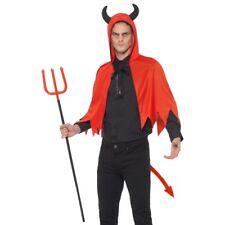 Devil Kit Mens Halloween Instant Devils Kit Fancy Dress Costume One Size