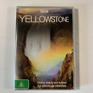 Yellowstone (DVD 2009) BBC documentary Region 4 new sealed
