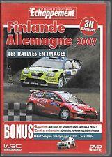 DVD ZONE 2--LES RALLYES DE FINLANDE ET D'ALLEMAGNE 2007--LOEB EN C4 WRC-1000LACS