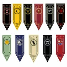 14 x Game of Thrones House Banner Hanging Flag Drape Stark Targaryen Lannister