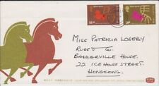 HONG KONG STAMPS FIRST DAY COVER 1978 LUNAR NEW YEAR HORSE OFFICIAL COVER
