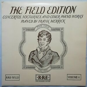 Rare Recorded Editions LP SRRE 123: The Field Edition Vol. 4 / Frank Merrick