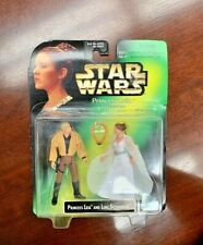 Rare Star Wars Princess Leia Collection With Luke Skywalker New Green Card