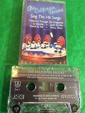The California Raisins Sing The Hits 1986 Cassette Tape Music Vintage