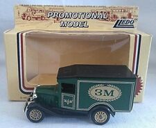 LLEDO PROMOTIONAL 3M FORD MODEL A VAN DIECAST BOXED