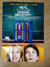 Filmposter * Kinoplakat * A0 * Hilfe, ich hab meine Lehrerin geschrumpft * 2015