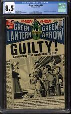 Green Lantern #80 CGC 8.5 (W) Neal Adams Cover Guardians Appearance