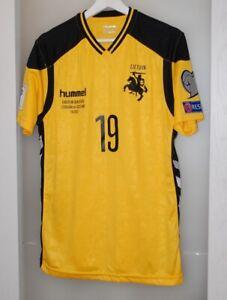 Match worn shirt Lithuania national team Sporting Portugal Germany Denmark