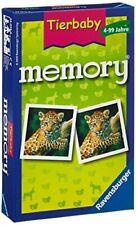 Ravensburger 23013 - Tierbaby Memory, der Spieleklassiker für Tierfans