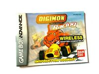 Digimon Racing Nintendo Game Boy Advance Instruction Manual Booklet ONLY