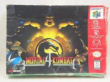 Mortal Kombat 4 (Nintendo 64 | N64) Authentic BOX ONLY