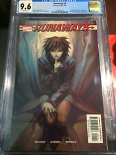 Runaways #1 CGC 9.6 1st appearance of all of the Runaways!  TV Show Super NM+