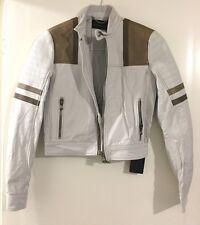 womens Diesel Leather Jacket