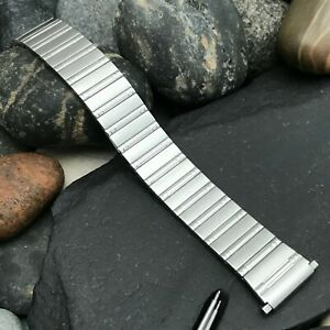 rare 1970s Stainless Steel Expansion Speidel nos Vintage Watch band