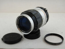 Nikkor 135mm f3.5 Nikon Nikkor-Q Auto + Skylight Filter Excellent Condition