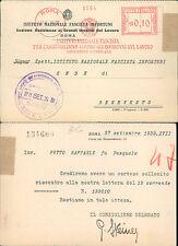 ROMA,ISTITUTO NAZIONALE FASCISTA INFORTUNI-F.G.-LAZIO(RM) N.41546