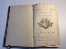 Fables By John Gay Volume II 1793 Leather Bound Illustrated Seventy Plates