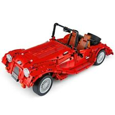 Morgan Plus 4 / Plus 8 Sports Car Technical Brick Model - 1141pcs, 1:10 Scale