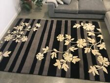 Wool Floral Hand-Tufted Shag Rugs