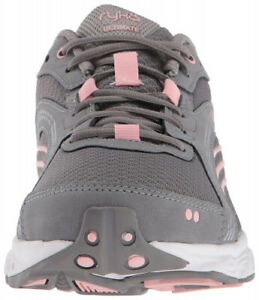 (6 B(M) US, Frost Grey/English Rose/Chrome Silver) - RYKA Women's Ultimate