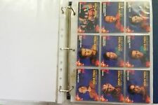 Star Trek Deep Space 9 Inaugural set of 100 cards & 5 spectra etch cards 1993