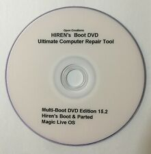 Hiren's Boot DVD 15.2 Fix Windows PC Computers EASY