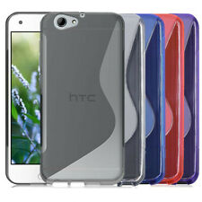 For HTC One A9 A9S S Line Skidproof Rubber TPU Gel skin case back cover