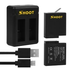 GoPro Hero 5 6 7 Dual Battery with USB Charger 3.85V 1220mAh