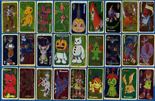 JAPANESE Anime Digimon 49 Stickers from Chewing / Bubble Gum.