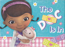 Party Invitations Thank You Notes DISNEY DOC MCSTUFFINS 8 Ea Cards Birthday