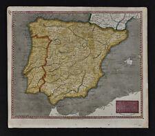 1804 Arrowsmith Map - Spain Portugal - Lisbon Madrid Barcelona Toledo Gibraltar