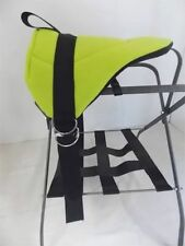 MINIATURE HORSE / SM PONY BAREBACK PAD SADDLE-  BRIGHT LIMEY GREEN!