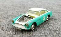 VINTAGE CORGI TOYS ASTON MARTIN DB4 RACE CAR MADE IN ENGLAND DIE CAST