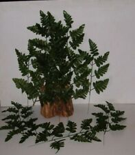 300 Silk Leather Fern Stems Wholesale Floral, Cemetary Decoration,Free Shipping