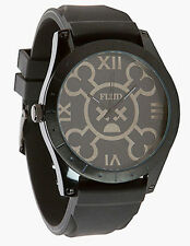 Flüd x Hex Murda Big Ben black Watch Uhr Montre BBNHX001 Armbanduhr Flud