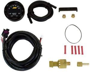 AEM X-Series Boost Pressure -30inHg 35psi Gauge 30-0306