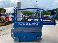 2013 Genie Gs 1930 Electric Scissor Lift 25 Ft Working Height Pwr To Platform